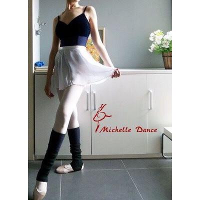 儿童芭蕾舞裙练功纱裙舞蹈小围裙雪纺教师纱裙舞蹈裙一片裙白色纱裙