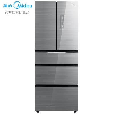 【99新】美的優惠品(Midea)BCD-406WGPZM 冰川銀 微晶一周鮮 智能操控 風冷無霜 家用大容量多門電冰箱