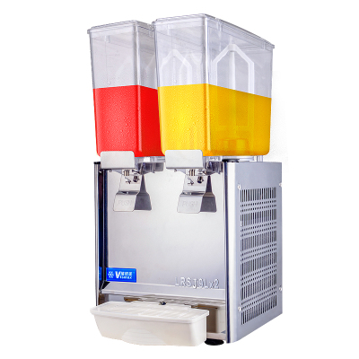 維思美雙缸冷飲機9L 單冷飲料機商用果汁機多功能全自動餐廳攪拌機 單冷雙缸