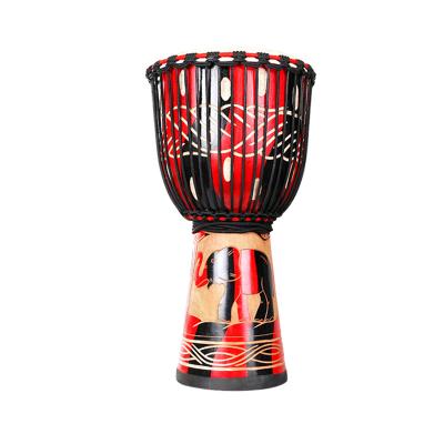 山羊皮手鼓非洲鼓兒童幼兒園初學者架子鼓成人入門演奏非洲鼓 8寸10寸12寸款式眾多蘇錫suixi