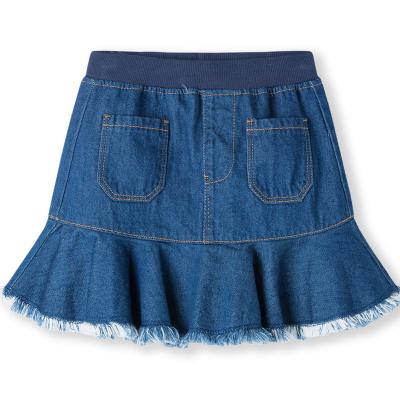 【1件5折】巴拉巴拉童装女童裙子秋装2019新款牛仔裙小童宝宝短裙儿童半身裙