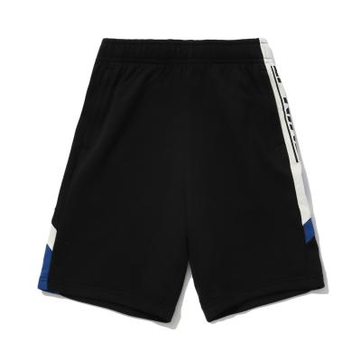 李寧童裝短衛褲男小大童2020新款夏季男裝休閑針織運動短褲