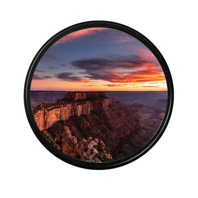 德國肖特玻璃GND77mm 0.9三檔反向漸變鏡 中灰漸變濾鏡適用尼康佳能索尼單反相機鏡頭數碼配件
