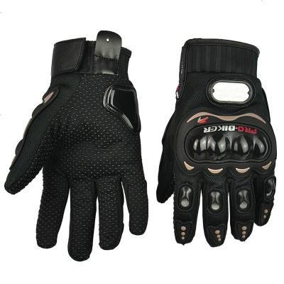 騎士手套 賽車摩托車手套 越野全指手套 透氣防摔防護