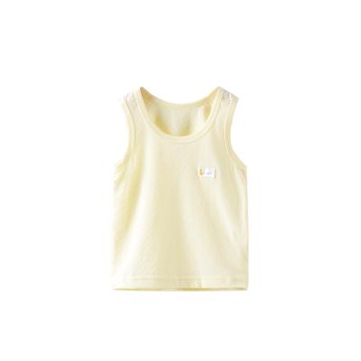 童泰TONGTAI婴童背心夏季新款婴儿无袖背心3-18个月宝宝护肚背心男女通用80cm