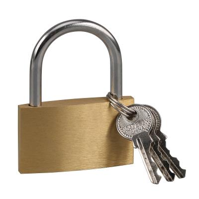 赛拓(SANTO) 0055 5CM薄型铜挂锁 铜锁 锁具 小锁 门锁锁具