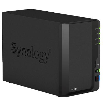 群晖 (Synology) DS218+ 专用 存储 NAS 服务器 (无内置硬盘)