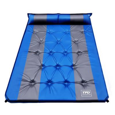 TFO 可拼接可拼自動充氣睡墊出游野餐防潮地墊帳篷坐墊