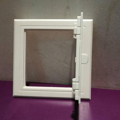 ABS塑料檢查口閃電客鉸式管井護口線盒裝飾衛生間管道新風檢修口蓋板 350*350扣壓式