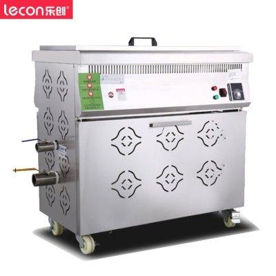 樂創(lecon) 50L全自動商用油炸鍋 油水分離電炸鍋單缸油炸爐炸油條機炸雞炸薯條機 大容量單缸