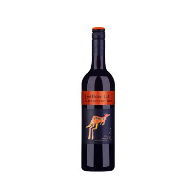 【入门干红】黄尾袋鼠(yellow tail) 赤霞珠干红葡萄酒 750ml 红酒 澳大利亚进口