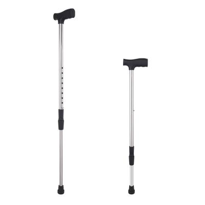 老人不銹鋼拐杖安穩老年拐棍伸縮防滑超輕手杖捌杖高度可調節拐棍
