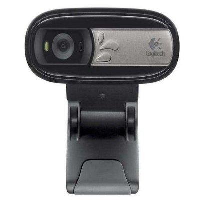 罗技(Logitech)C170摄像头 视频聊天游戏直播带麦克风台式机电脑普通摄像头 黑色