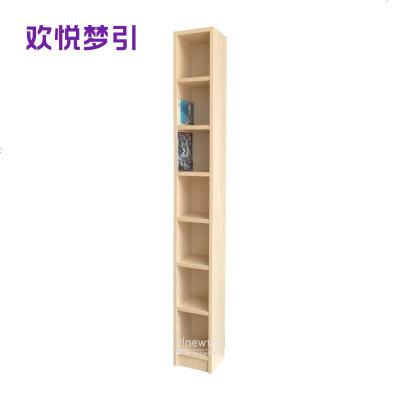 简约简约风格 1.6米高20宽CD架DVD蓝光架小漫画书架 上海产可定制