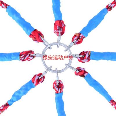苏宁放心购趣味拔河绳三角成人儿童幼儿园多向拔河比赛专用绳20米30米可定制聚兴新款