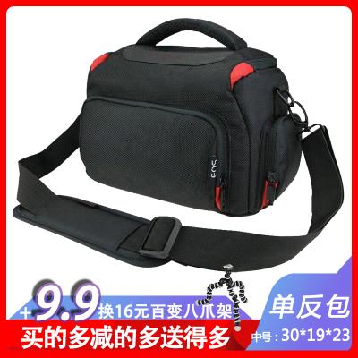 數碼單反相機包適用佳能尼康索尼單反850D 90D 80D 5D4 a6500 a6400 a6300斜跨手提單肩攝影包