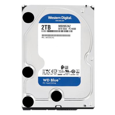 西部数据(WD)蓝盘 2TB 台式机械硬盘