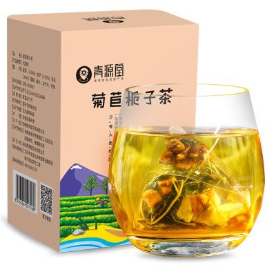 青源堂 菊苣梔子茶 菊苣梔子降葛根桑葉甘草百合尿酸茶五寶茶配方養生茶