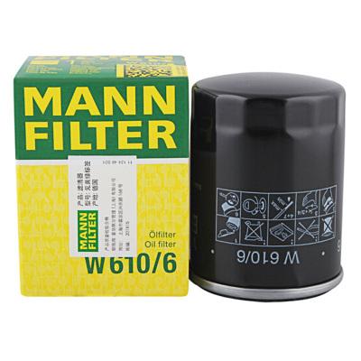 曼牌(MANN)機油濾清器W610/6適用于本田雅閣/思鉑睿/奧德賽/CRV/思域/飛度/杰德