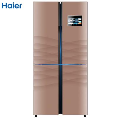 Haier/海爾 BCD-458WDIAU1 458升 變頻干濕分儲冷藏冷凍 四門冰箱 對開門 WIFI智