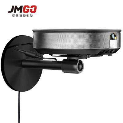 堅果JMGO 投影機配件 球形云臺壁掛/吊裝 二合一投影儀支架 鋁鎂合金 兩用款 360度自由旋轉 隱藏式收納 散熱
