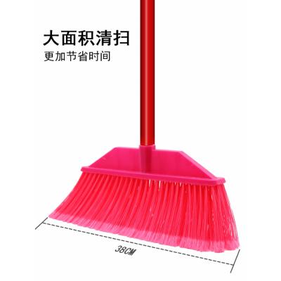 大華QJYP-20132 家用家具配套家具輔料 塑料紅色掃把 330L*55W*1100H 定制款