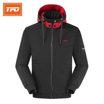 2019年冬季新品厚款防風棉服男款帽子可拆卸外套