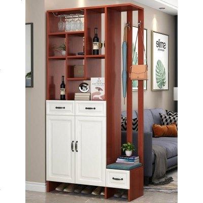 顾致进玄关柜客厅隔断柜现代简约入户间厅柜子可定制北欧屏风柜酒柜