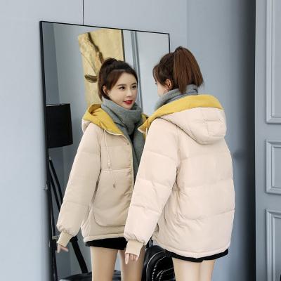 菲本菲 羽绒棉服女短款冬季2019韩版ins面包服棉袄宽松加厚棉衣外套