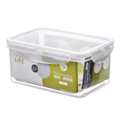 普業PY-1212長方形保鮮碗1000毫升ML儲物收納水果保鮮盒 大容量不保溫飯盒便當盒保鮮碗其他PP材質