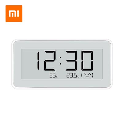 小米 米家電子溫濕度計Pro 藍牙電子家用嬰兒房內高精密溫濕度計鐘表