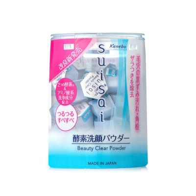 Kanebo嘉娜宝 suisai水之璨酵素洗颜粉嘉娜宝洁面粉去黑头洗面奶去粉刺日本 0.4g*32
