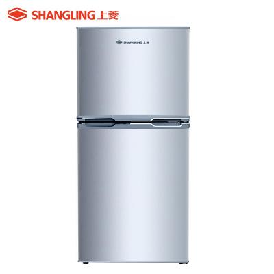 上菱(shangling) BCD-137C 137升双门冰箱 静音节能两门小冰箱 租房家用 适用2口之家电冰箱