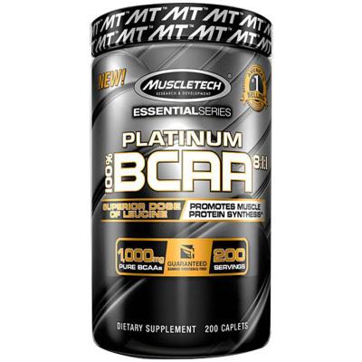 Muscletech 肌肉科技 白金支链氨基酸胶囊 200粒/罐 美国进口 其他 240克