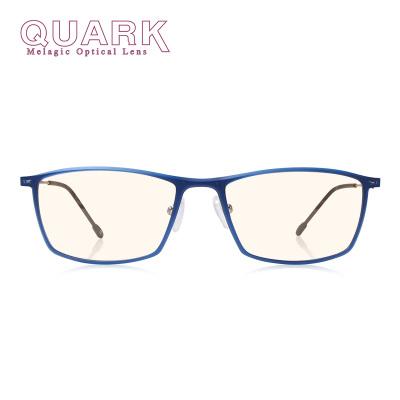 美国夸克(QuarK)防蓝光眼镜防紫外线护目镜抗眼干眼涩眼疲劳防电脑手机防辐射超轻镜架日夜两用103-c4