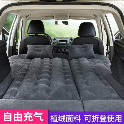 沿途(YANTU)車載充氣床 F30黑色 后排suv車中床汽車后座轎車成人睡墊床墊旅行氣墊床