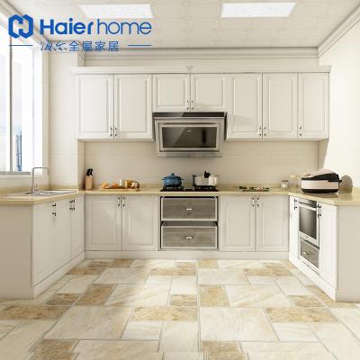 海尔Haier home整体橱柜厨房定制现代简约石英石台面 H1塞浦路斯橱柜 预付金