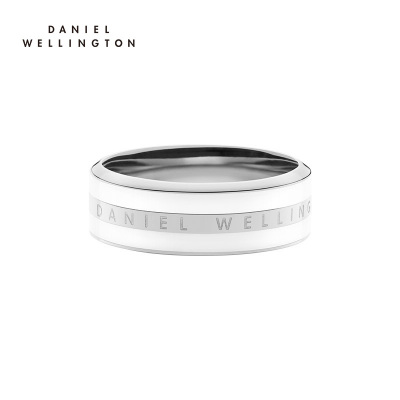 DanielWellington丹尼尔惠灵顿 dw戒指 新品简约百搭戒指 银色