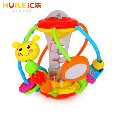 匯樂玩具(HUILE TOYS)健兒球929 寶寶益智球類塑料玩具搖鈴嬰幼兒童手抓球3個月以上202*170*192mm