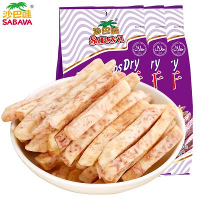 沙巴哇(Sabava)芋头条干休闲零食进口零食代餐零食蔬果干果蔬干薯条
