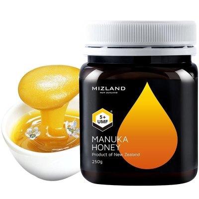 新西蘭原裝進口 麥盧卡蜂蜜 蜜滋蘭麥盧卡花蜂蜜UMF5+250g 滋補蜂蜜 送禮送人