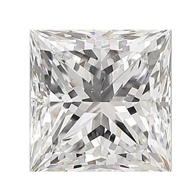 金象珠寶高級別D色VS1凈度EX公主方裸鉆特價