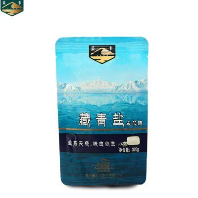 茶卡藏青鹽320g單品自然結晶無碘鹽不加抗結劑無任何添加茶卡湖鹽未加碘