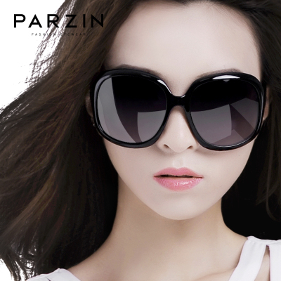 帕森太陽鏡 女 新款時尚復古偏光鏡大框駕駛太陽眼鏡潮墨鏡女6216
