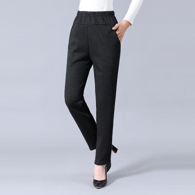 媽媽褲子老年人長棉褲20寬松中年中老年女褲 2號色 2XL