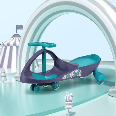 babycare嬰幼兒童扭扭車 萬向輪溜溜車1-5歲男寶寶女寶搖擺扭扭車4個輪