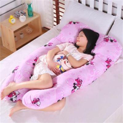 多功能孕妇枕 U型护腰枕 侧卧护腰枕 全棉抱枕