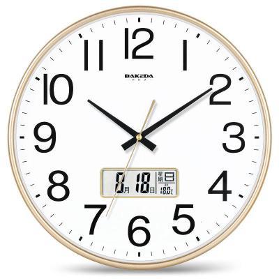 【新品特惠】靜音掛鐘創意時尚石英鐘簡約時鐘客廳臥室鐘表現代家庭掛表