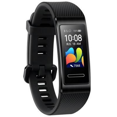 華為手環4 Pro 運動手環智能手環(血氧飽和度檢測+NFC智能刷卡+彩屏)曜石黑