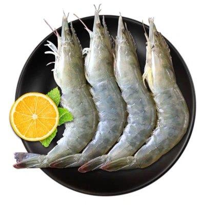 【超大5斤裝進口海蝦】厄瓜多爾白蝦15-19厘米超大蝦生鮮大蝦 對蝦海鮮水產 基圍蝦明蝦青蝦白蝦海蝦 凈重3.5到4斤